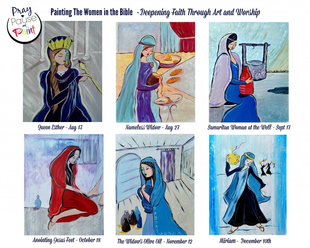 Painting-the-women-in-the-bible