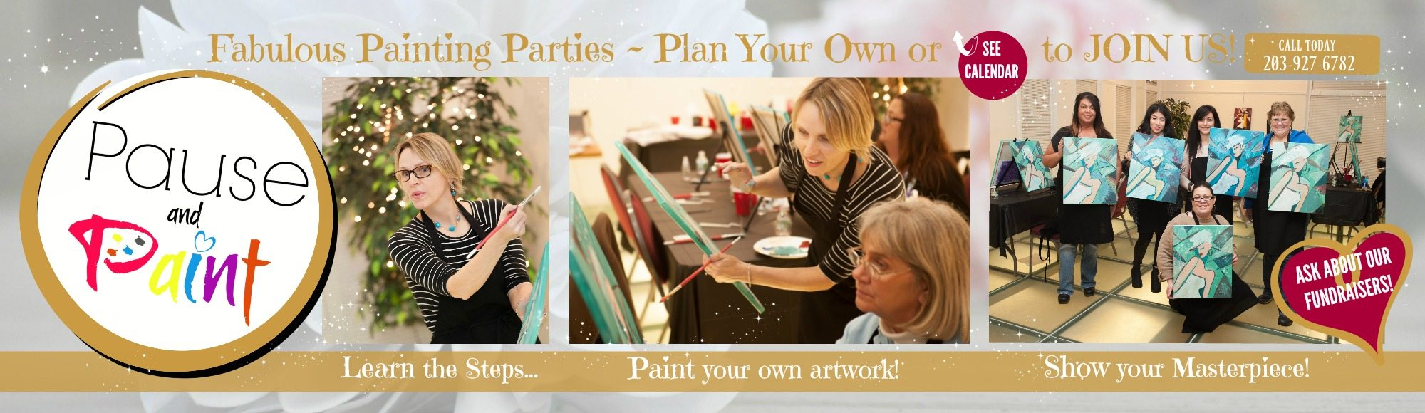 Pause and Paint - Brush off Stress