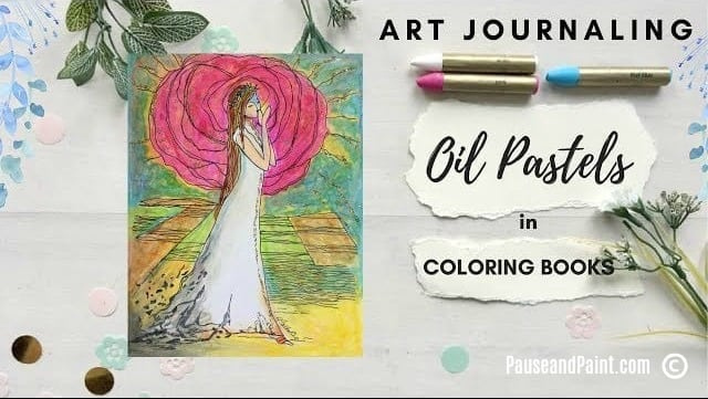 5 tips to create oil pastel coloring pages