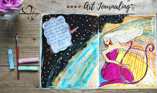 Using Oil Pastel In Journal Archives Pause And Paint