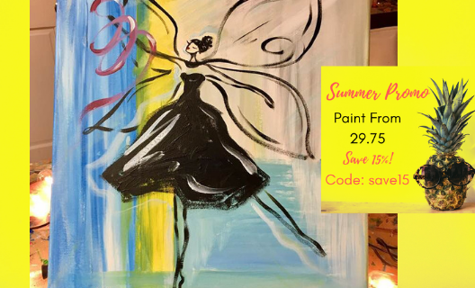 paint party - Fairy Ballerina